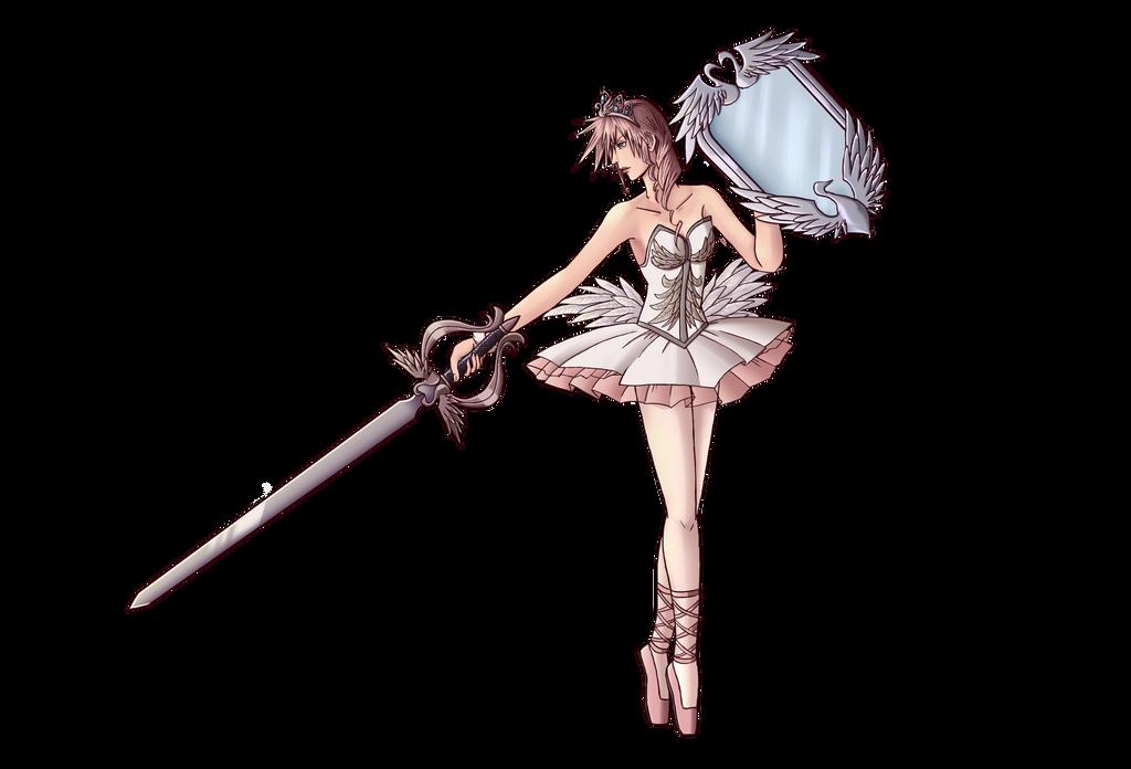 Lightning Returns: Final Fantasy XIII - Ballerina by Trinityinyang