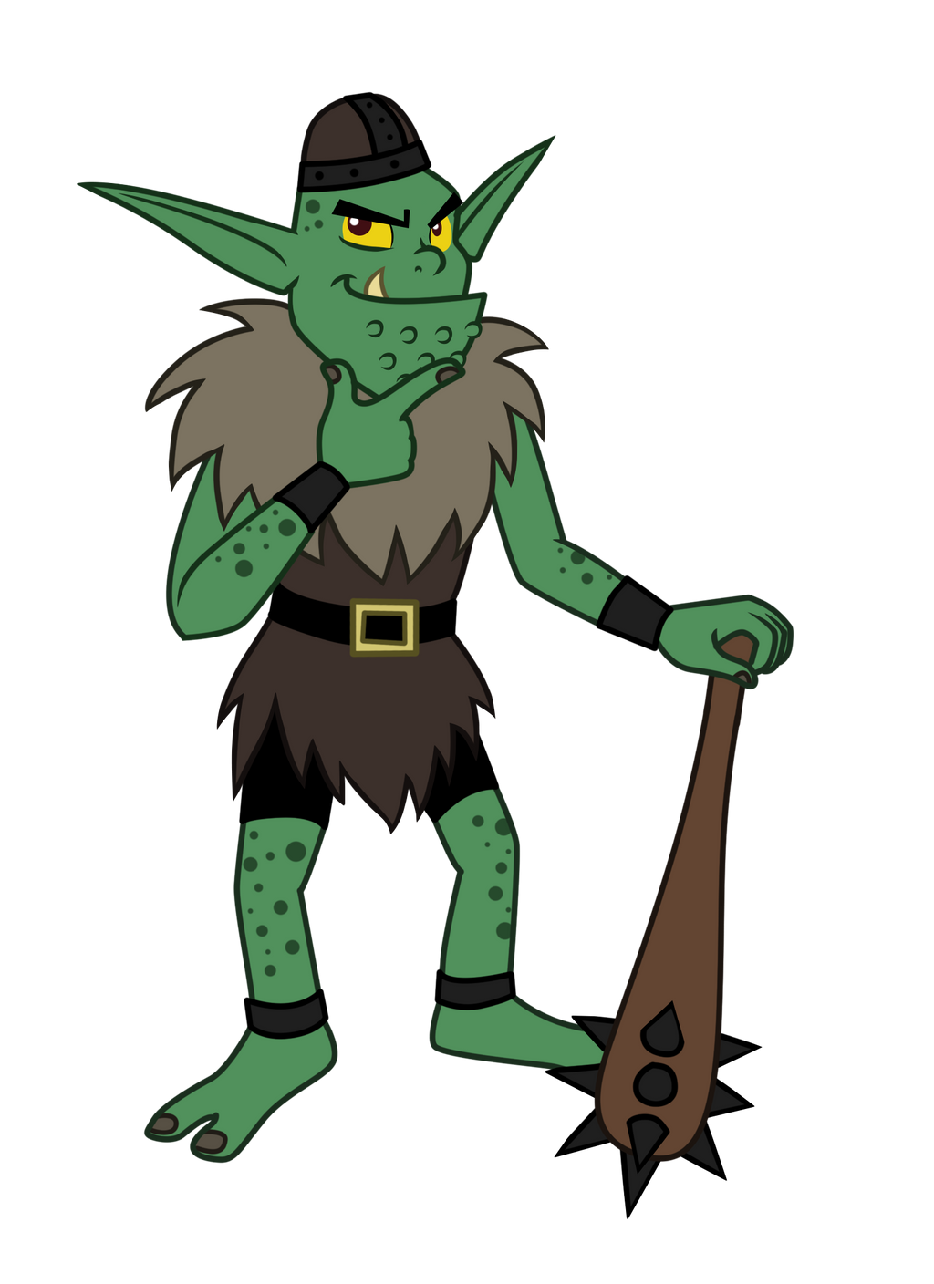 commission blarg the goblin by trinityinyang on deviantart