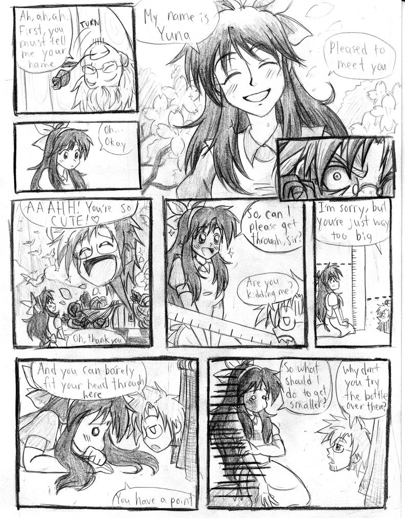 Yuna in Wonderland - Doorknob (Page 3) by Trinityinyang