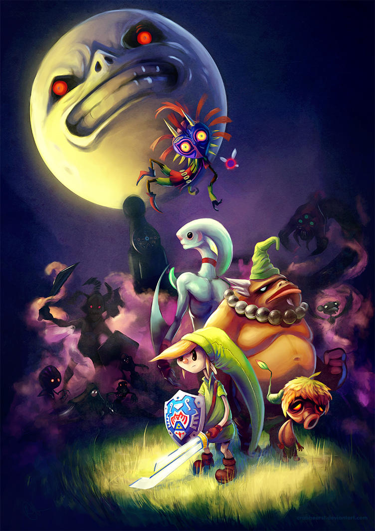 Majora's Mask by Crabhearst