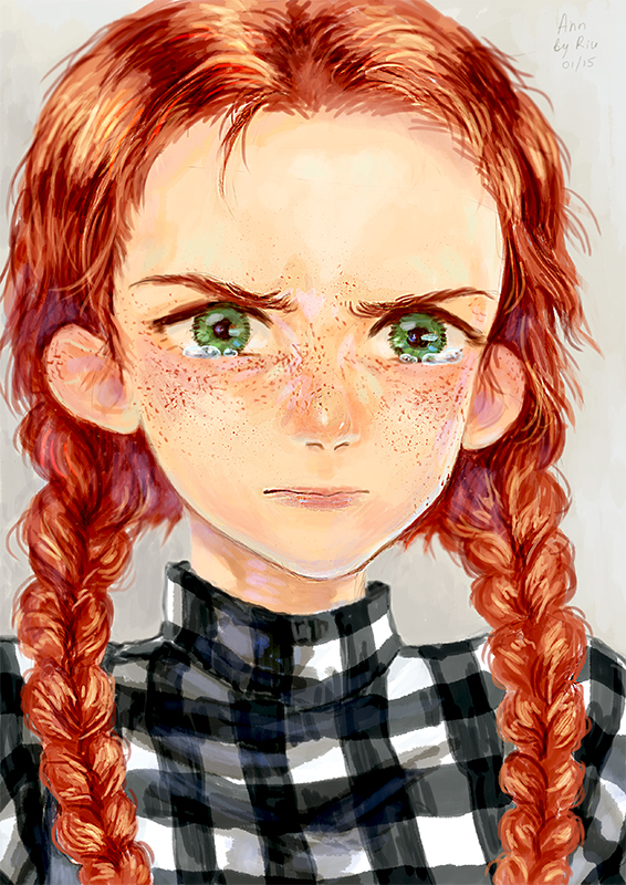 Anne Of Green Gables By Shaienny On Deviantart