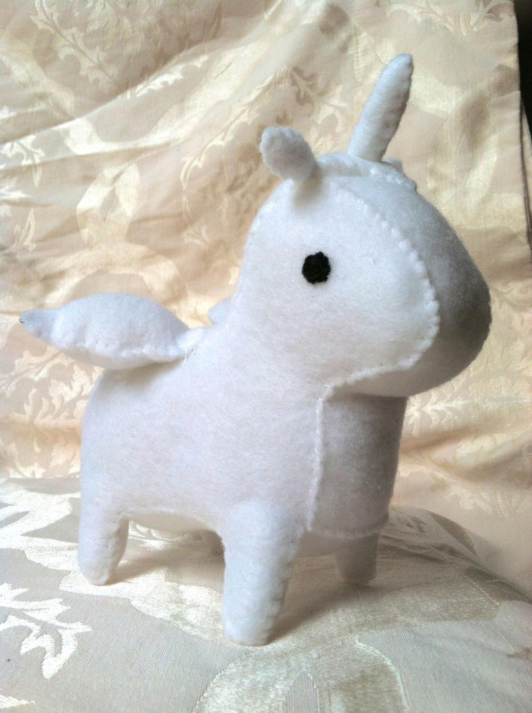 Diamond Unicorn Plush by PinkChocolate14
