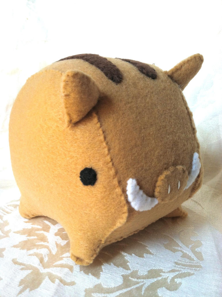 Noble Boar Plush by PinkChocolate14