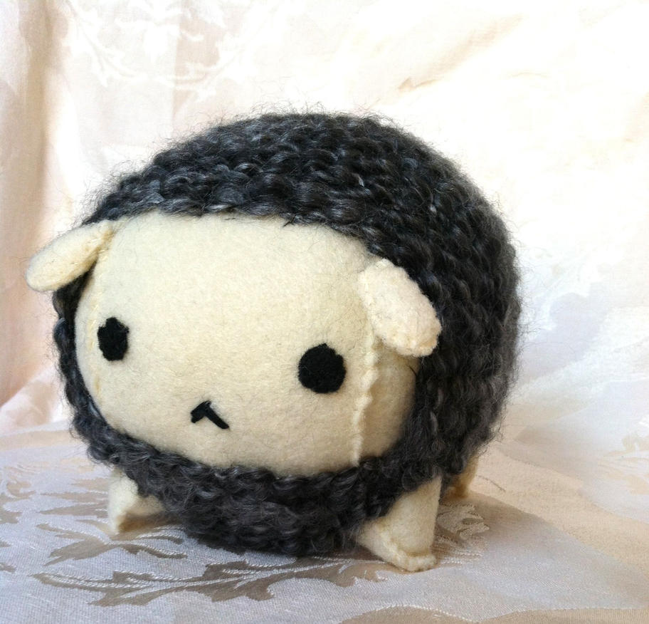 Soft Sheep Plush by PinkChocolate14