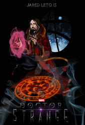 Jared Leto is Dr. Strange by khriztian