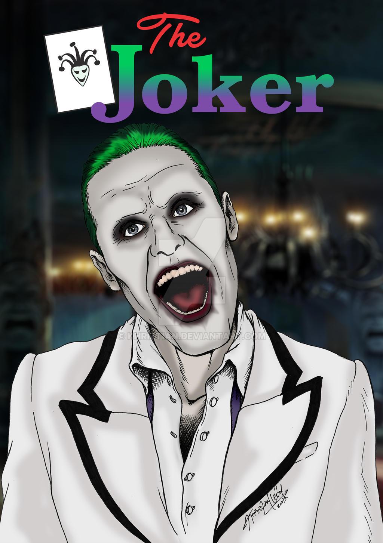 Jared Leto Joker Fan Art