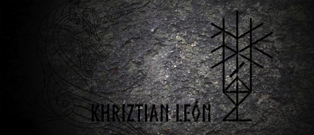 New ID - Bindrune name by khriztian