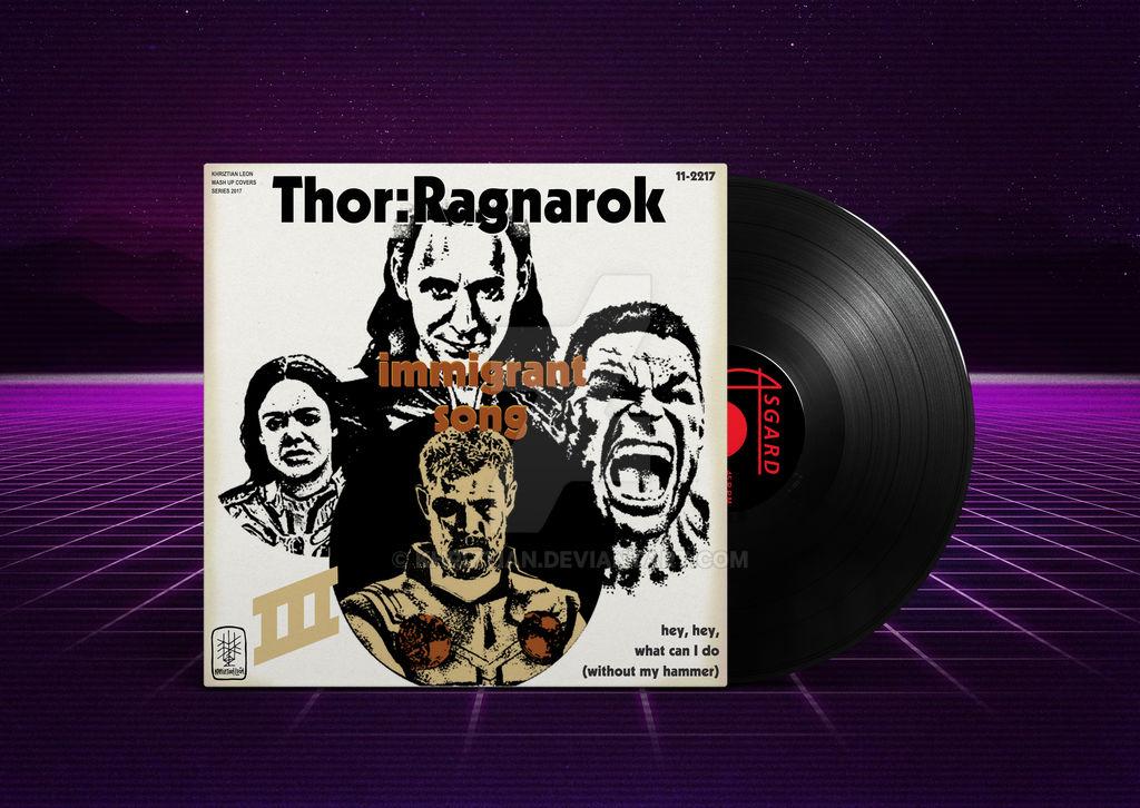 Thor Ragnarok Immigrant Song By Khriztian On Deviantart