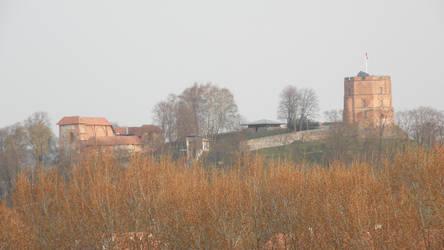 Gediminas castle by Krad-dono
