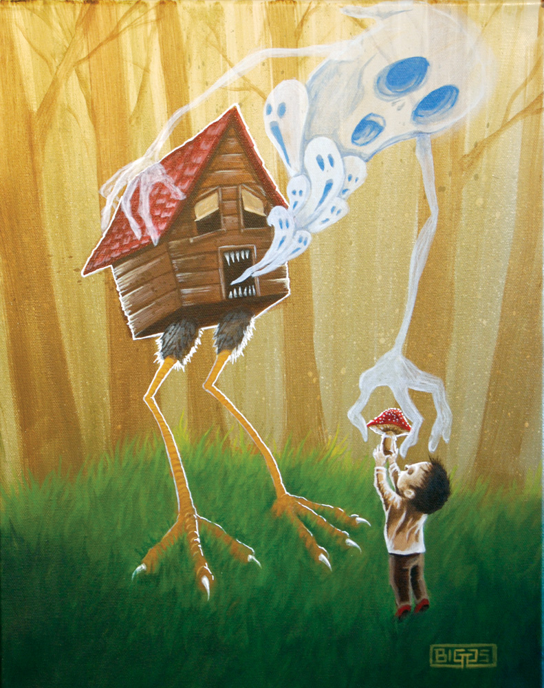 Offering to Baba Yaga by mr-biggs