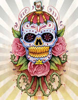 Sugar Skull by mr-biggs