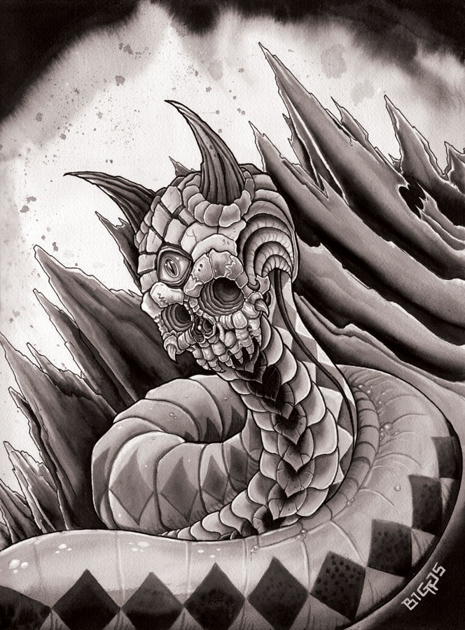 Dawn of the Serpent by mr-biggs