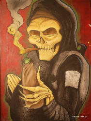 Ghetto skeleton by mr-biggs