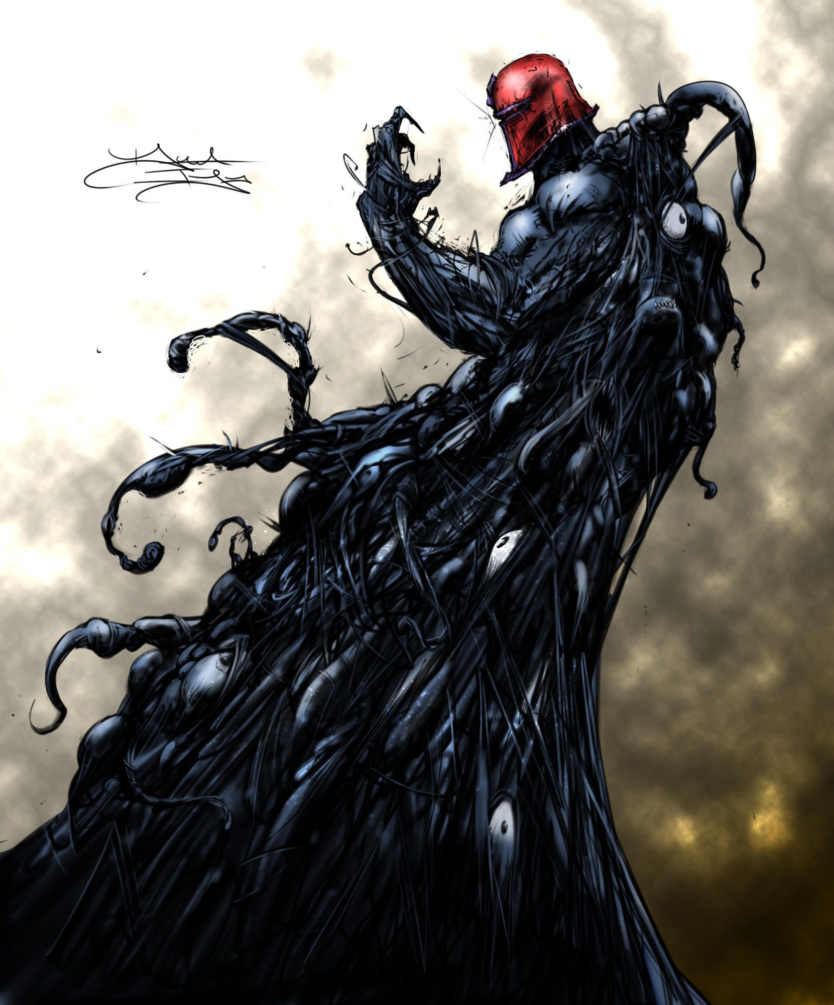 Part 14 / 9 Venom_Magneto_by_DaveIgo__by_dekeart