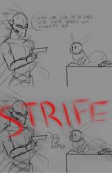 Bonus Sketch: Strife Meets Eevee