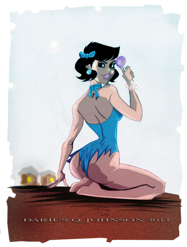 Betty Rubble by Dariustheruler