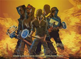 Flawless Crime mixtape cover by Dariustheruler