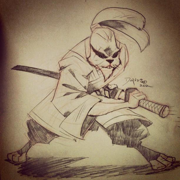 Usagi Yojimbo by Dariustheruler