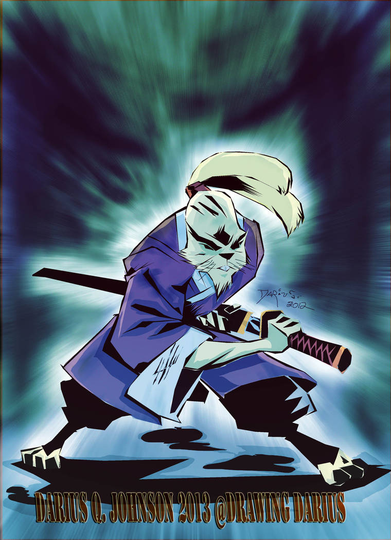Usagi Yojimbo In color by Dariustheruler