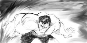 Sketchbook Pro Hulk by Dariustheruler