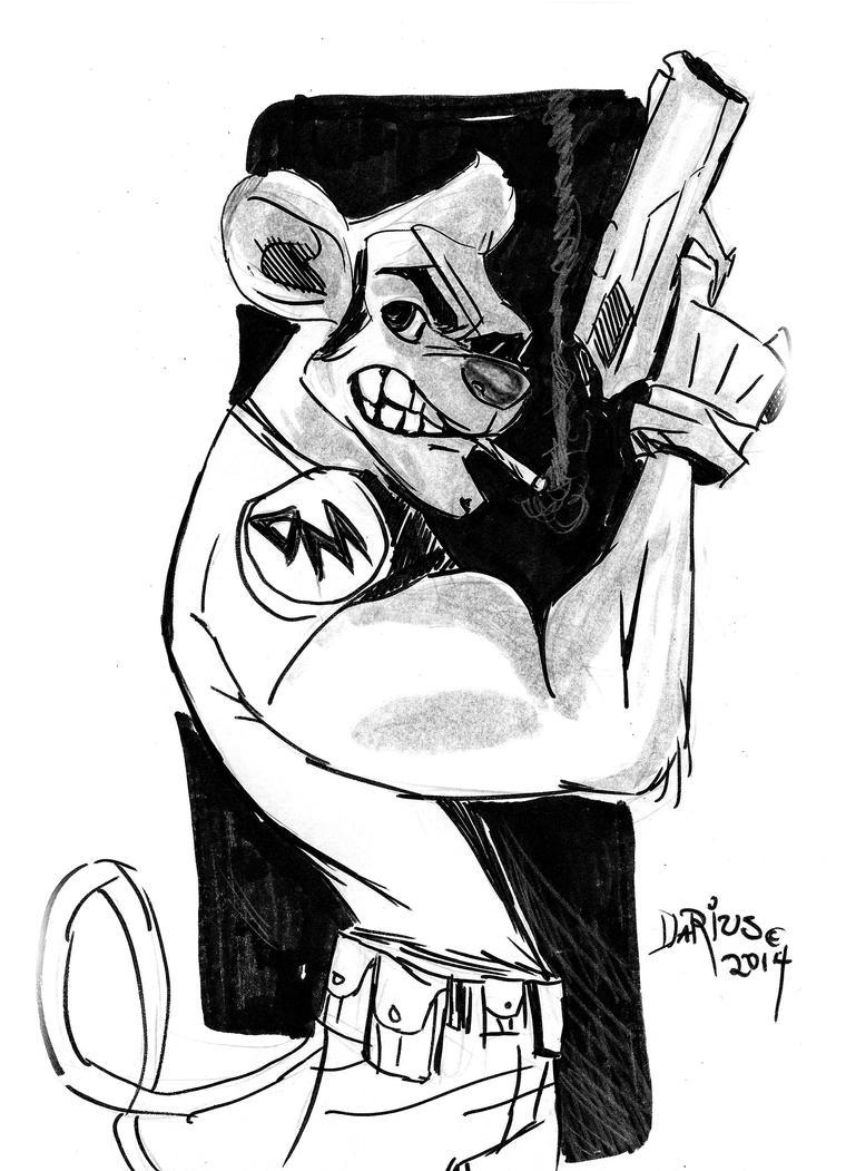 Danger Mouse by Dariustheruler