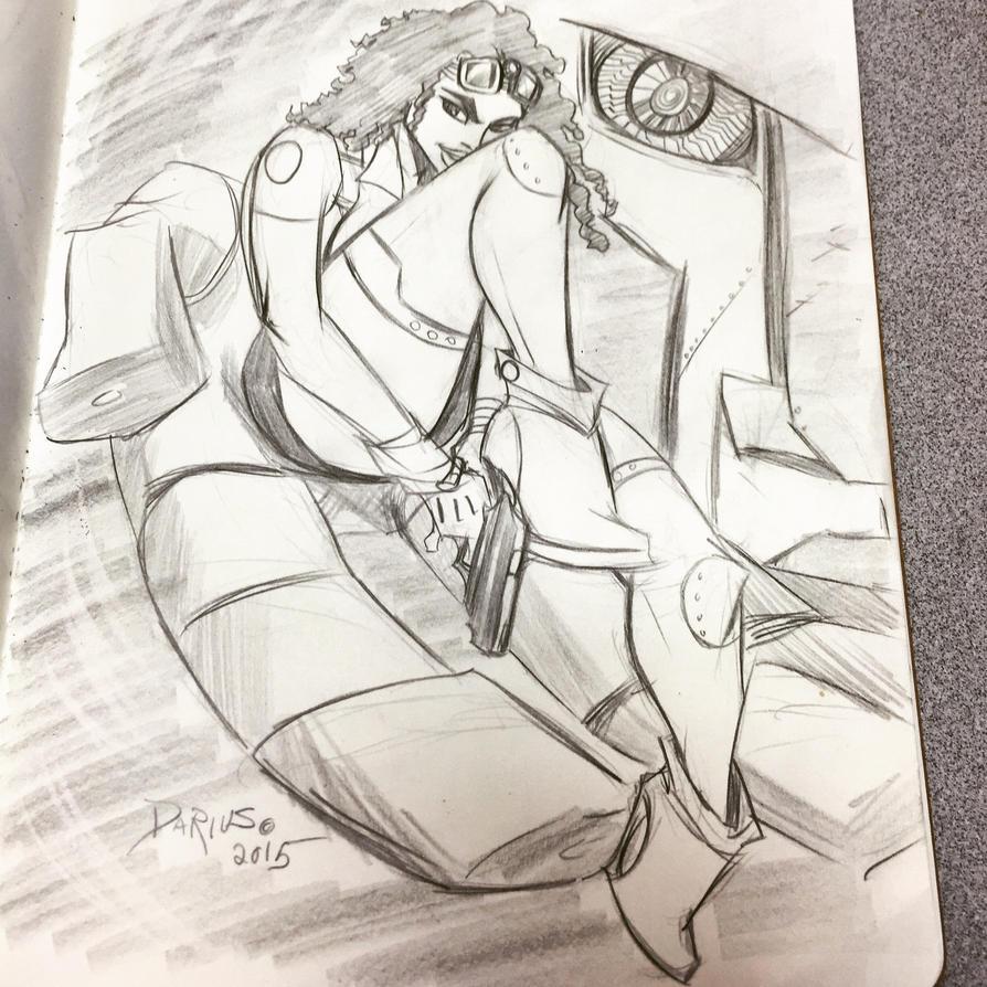 Sketch  by Dariustheruler