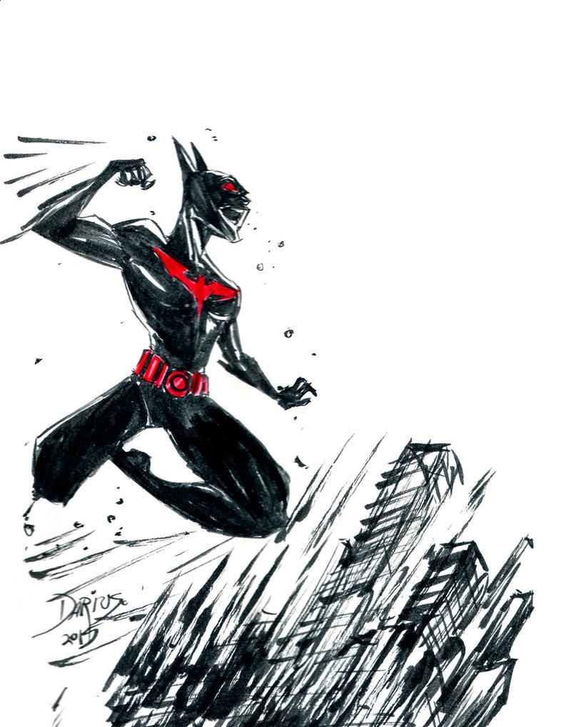 Inksplash Batman Beyond by Dariustheruler