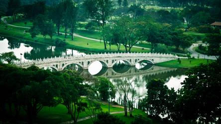 Chinese Garden by amiyain