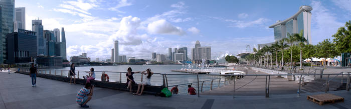 Marina Bay Wide shot