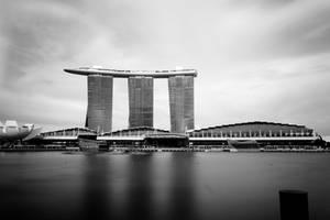 Marina Bay long exposure