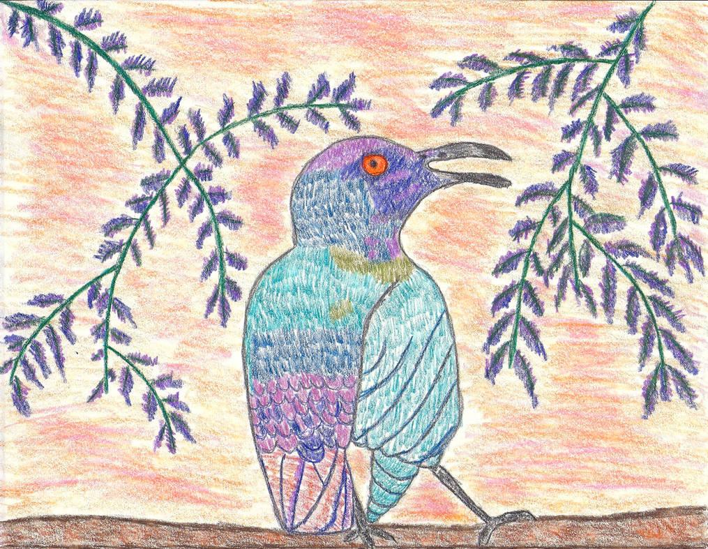 Paradise Bird by LindArtz