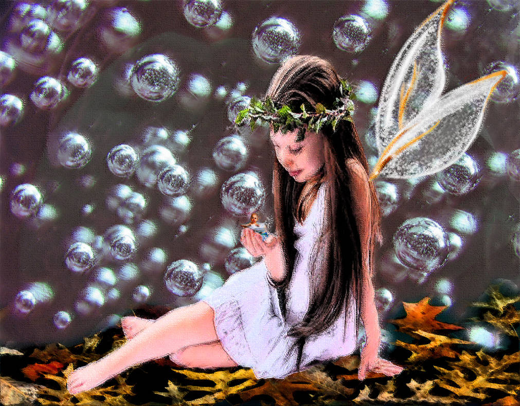 Fairy of Bath time by LindArtz