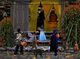 Halloween Magic by LindArtz