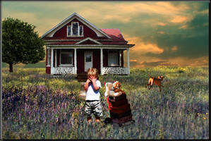 Running away from Home by LindArtz
