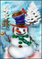 Merry Christmas by LindArtz