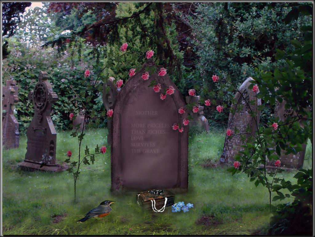 Love Survives the Grave by LindArtz
