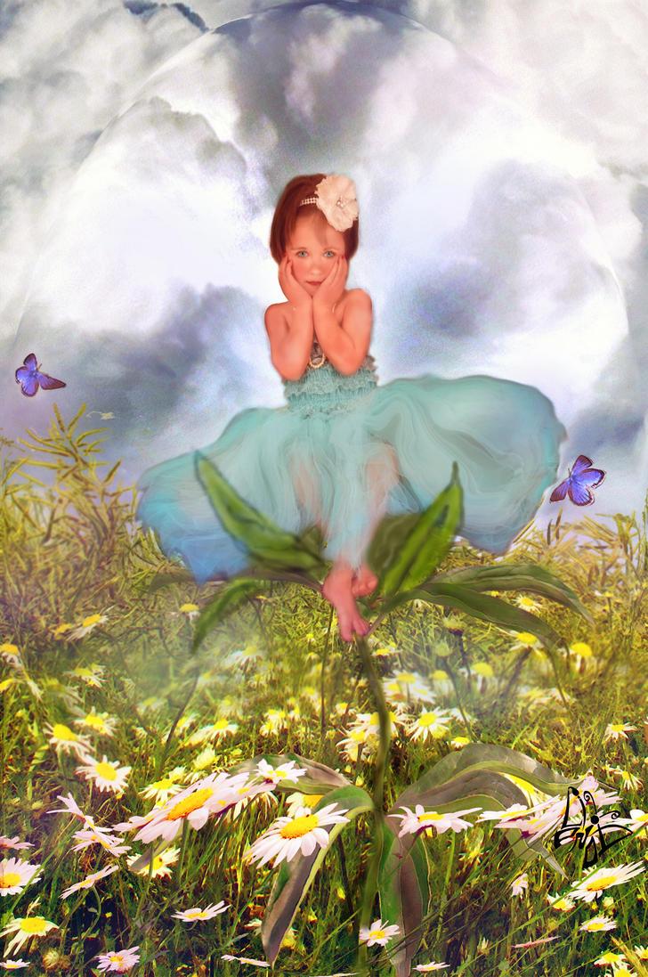 Flower Child  by LindArtz