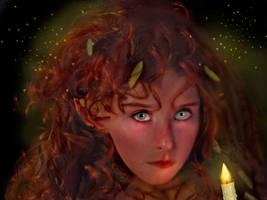 Night of the Fireflies  by LindArtz