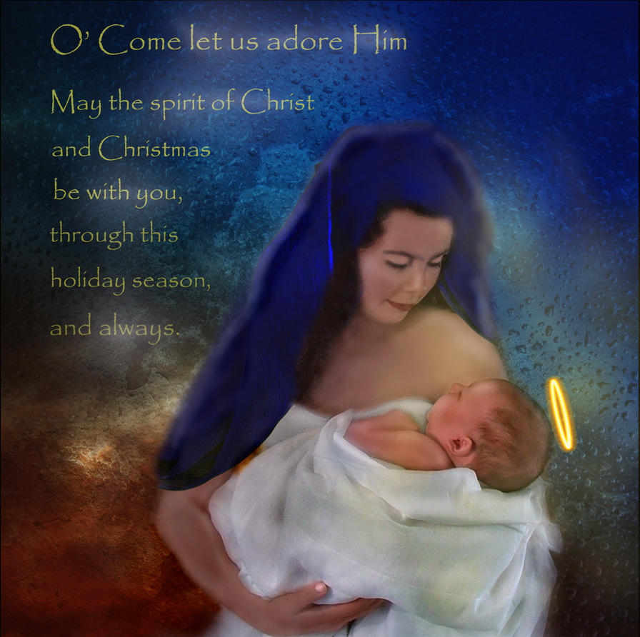 Merry Christmas All...Happy Birthday Jesus!  by LindArtz
