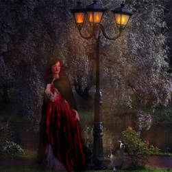 Nightly Stroll  by LindArtz