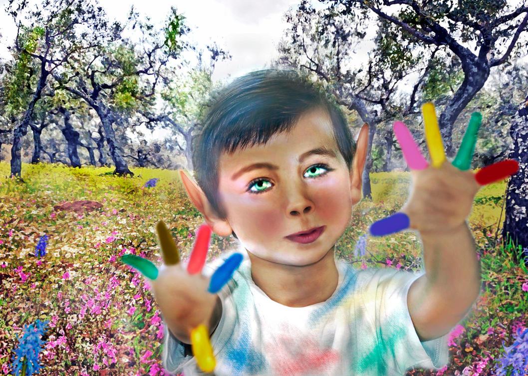 Nature's Lil Helper  by LindArtz