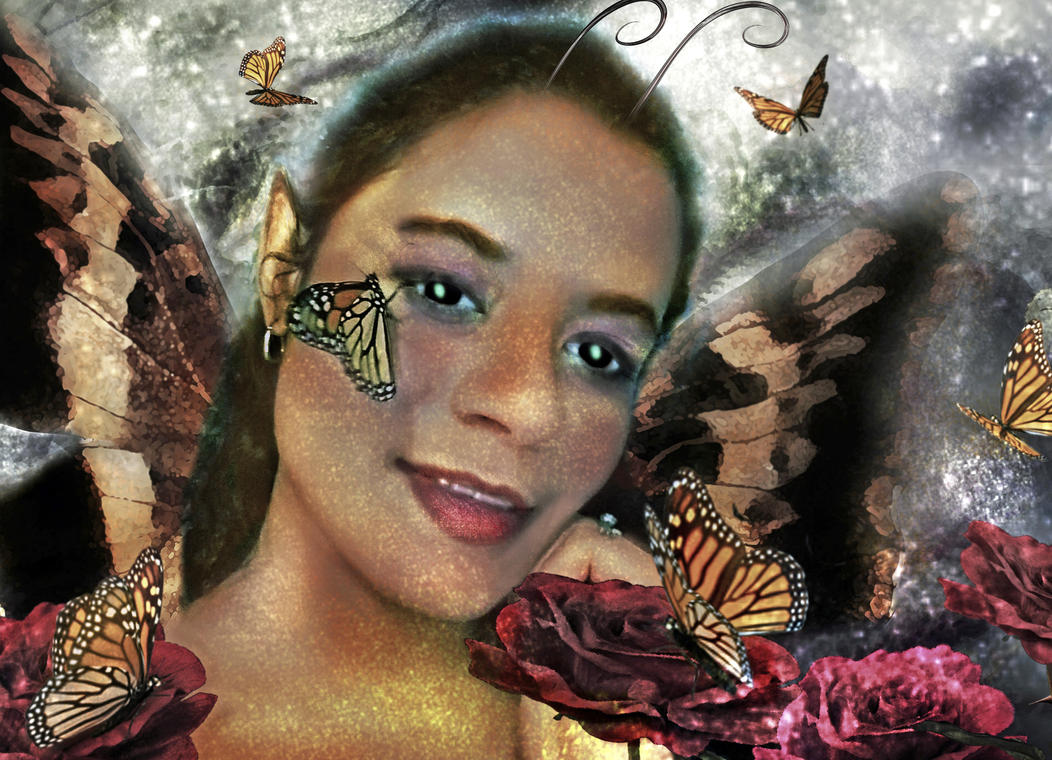 Butterfly Fairy   by LindArtz