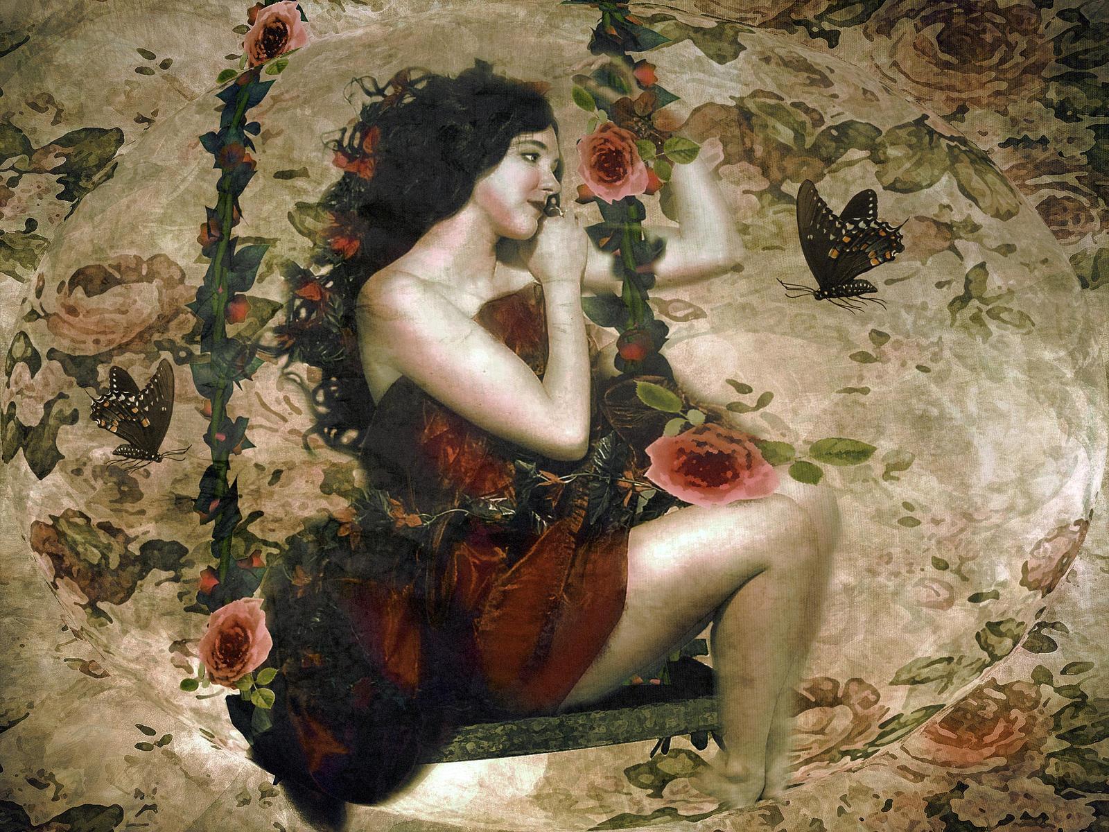 Floral Nymph 3 by LindArtz