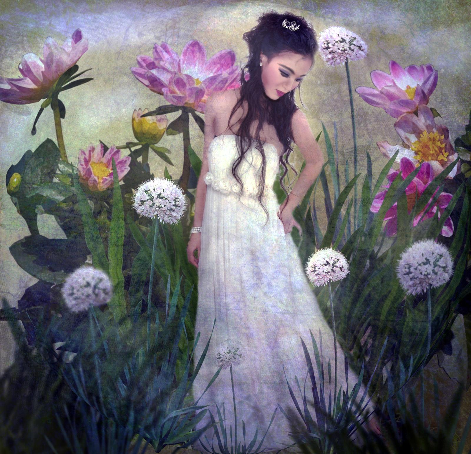 Floral Nymph 4  by LindArtz
