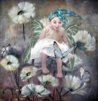 Flower Child 3  by LindArtz
