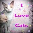 I Love Cats  by LindArtz