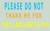 Please Do Not Thank Me (Rightprofilecolor by LindArtz