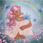 Sweet Little Elf Girl