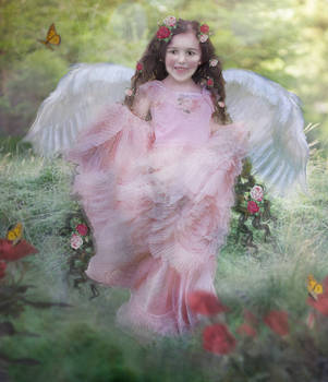 The Rose Angel by LindArtz