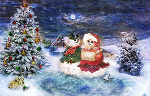 Magical Christmas by LindArtz